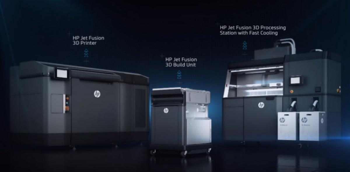 HP, süper hızlı 3D yazıcı tanıttı