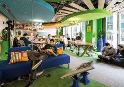 Genç yetenekler rahat ofis istiyor