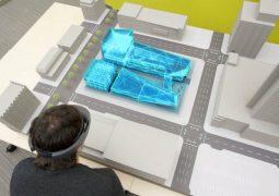 HoloLens inşaat