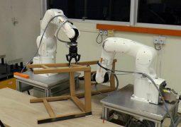 Mobilya montaj robotu geliştirildi