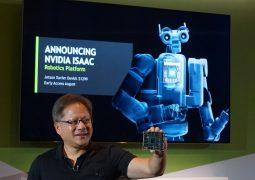 Nvidia yapay zeka bilgisayarı tanıttı
