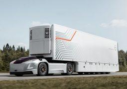 Sürücüsüz kamyon Vera tanıtıldı