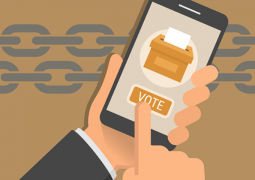 siyasi seçimde blockchain