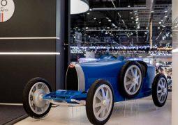 Bugatti elektrikli çocuk arabası tükendi