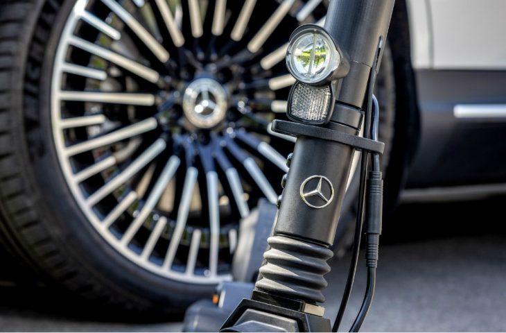 Mercedes elektrikli scooter