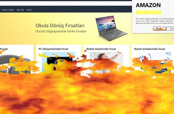 Orman yangıları için Chrome