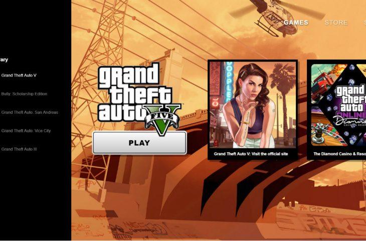 Rockstar Games oyun mağazası