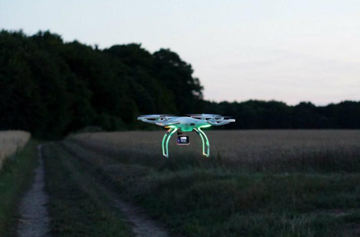 Drone ile kayıp