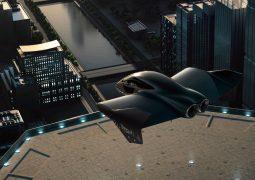 Elektrikli uçan araba