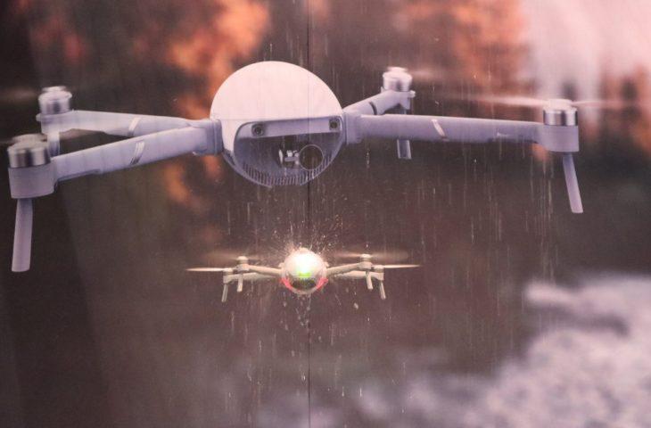 katlanabilir drone PowerEgg X